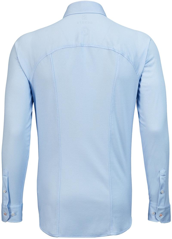 Desoto Overhemd Strijkvrij Blauw Oxford foto 1