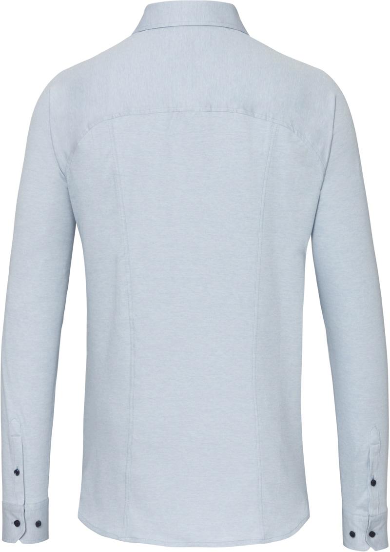 Desoto Overhemd Strijkvrij Lichtblauw 502