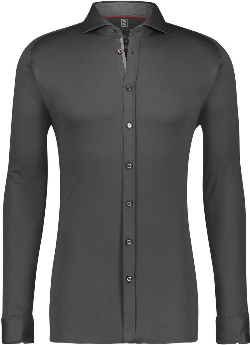 Desoto Shirt Non Iron Indigo Grey photo 0