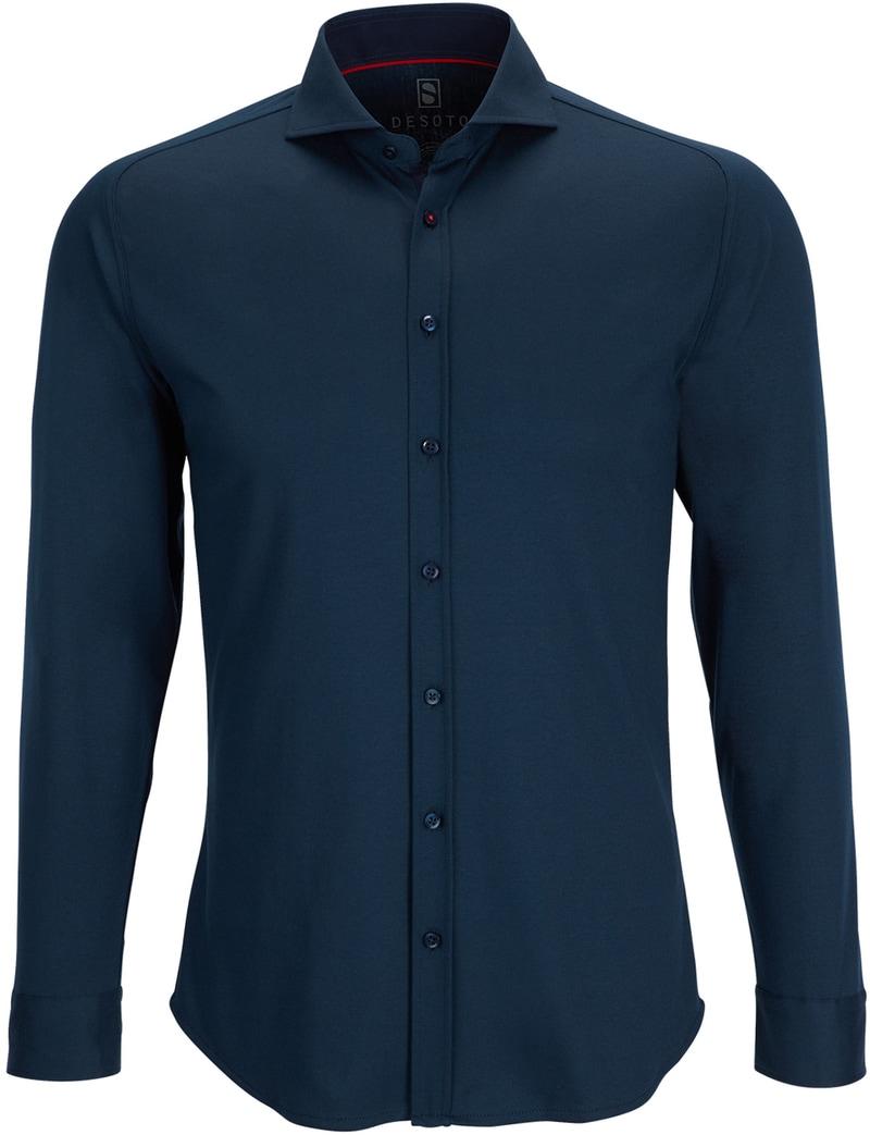 Desoto Shirt Non Iron Navy