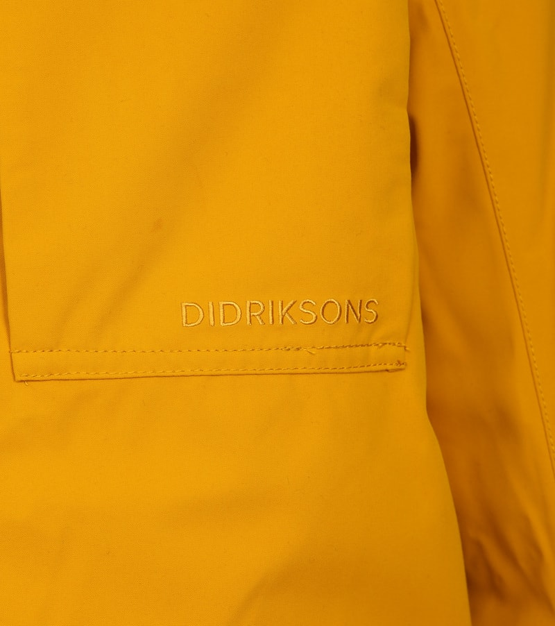 Didriksons Reidar Parka Yellow photo 2