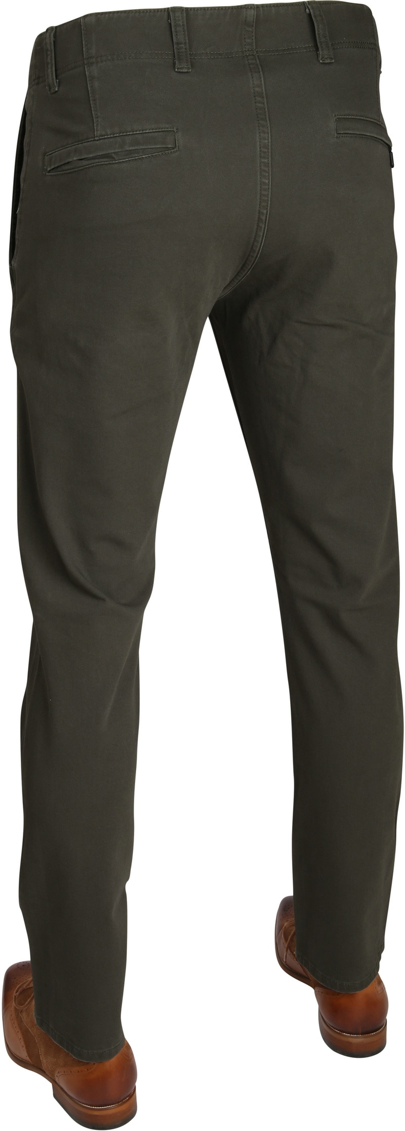 Dockers Alpha Chino Skinny Dark Green Foto 2