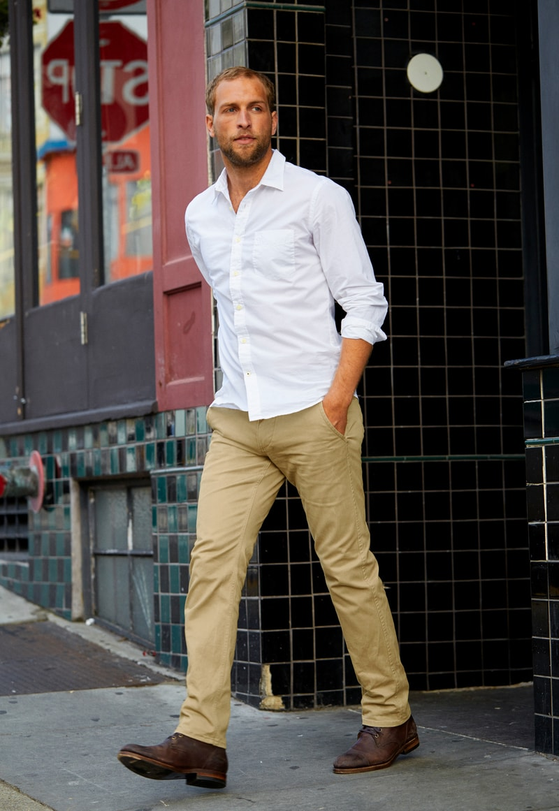Dockers Alpha Khaki Skinny  photo 5