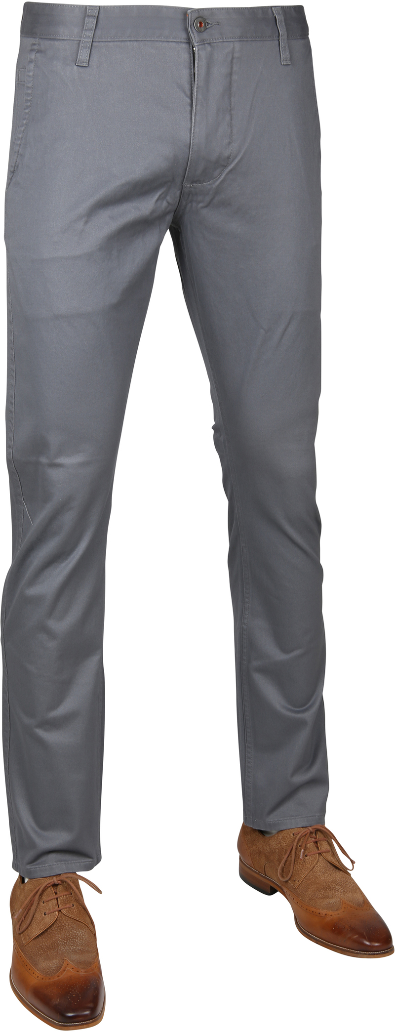 Dockers Alpha Slim Stretch Grijs foto 0
