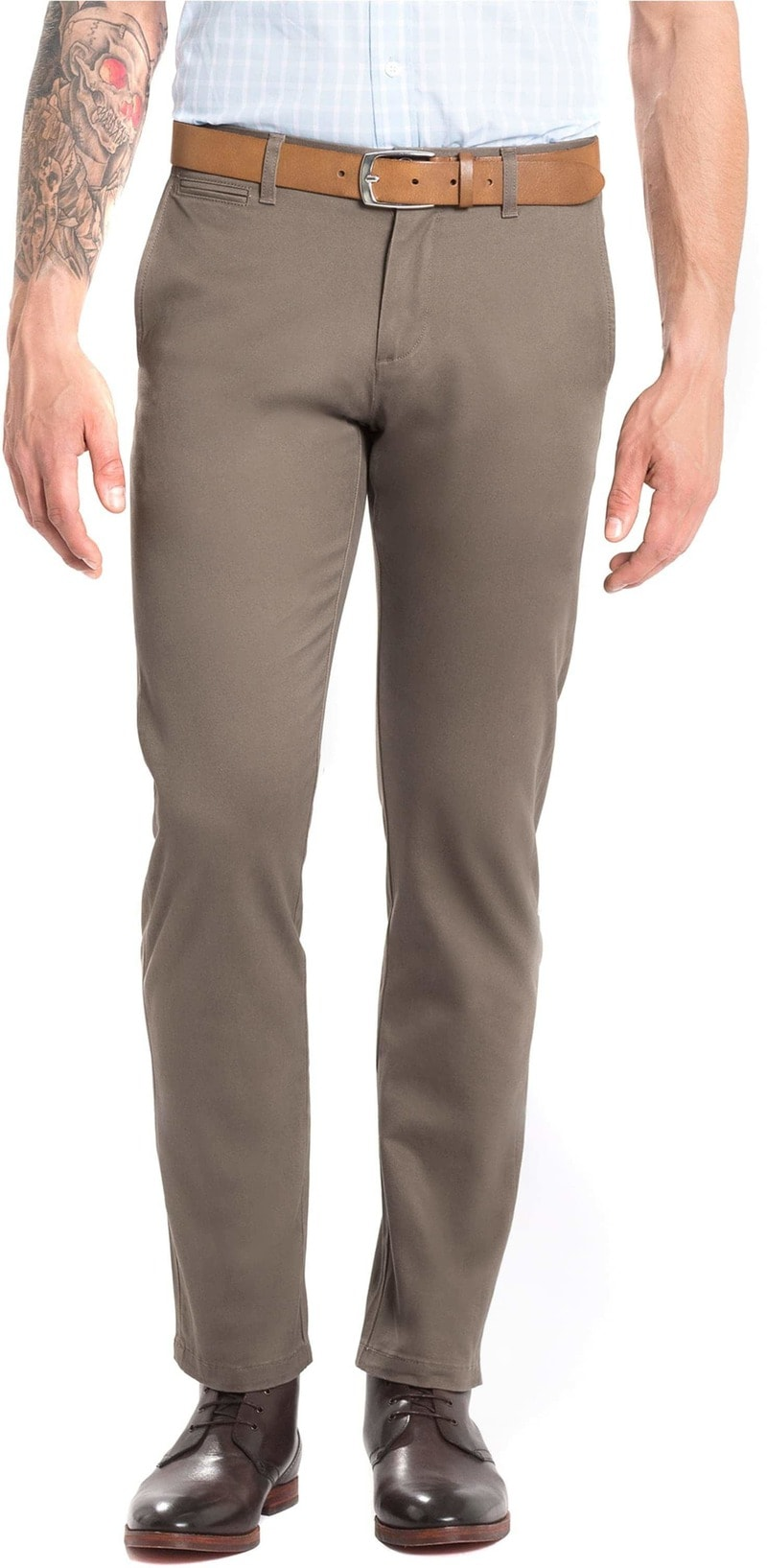 Dockers Alpha Stretch Premium Bruin  online bestellen | Suitable
