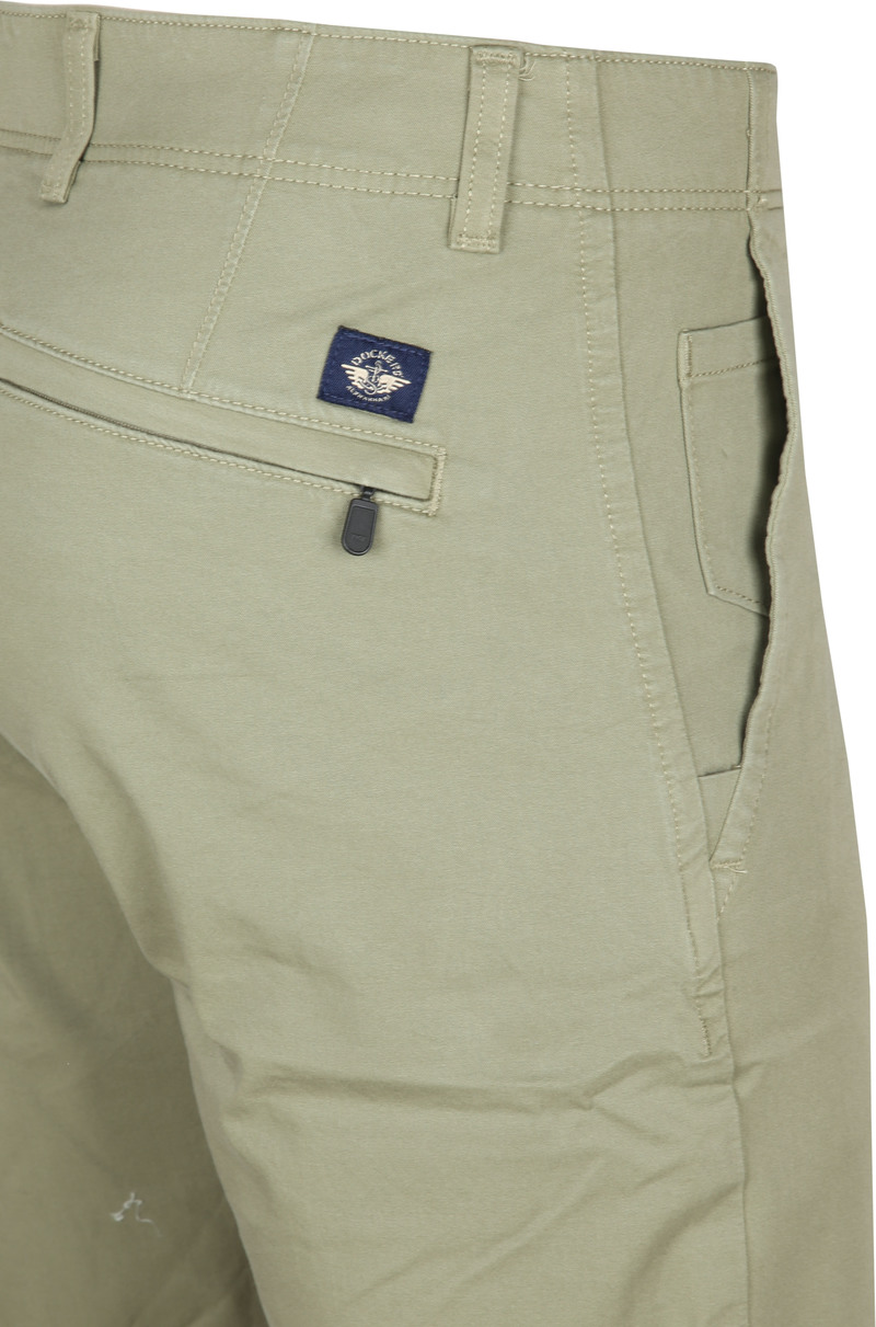 Dockers Alpha Tapered Chino 360 Flex Groen foto 1