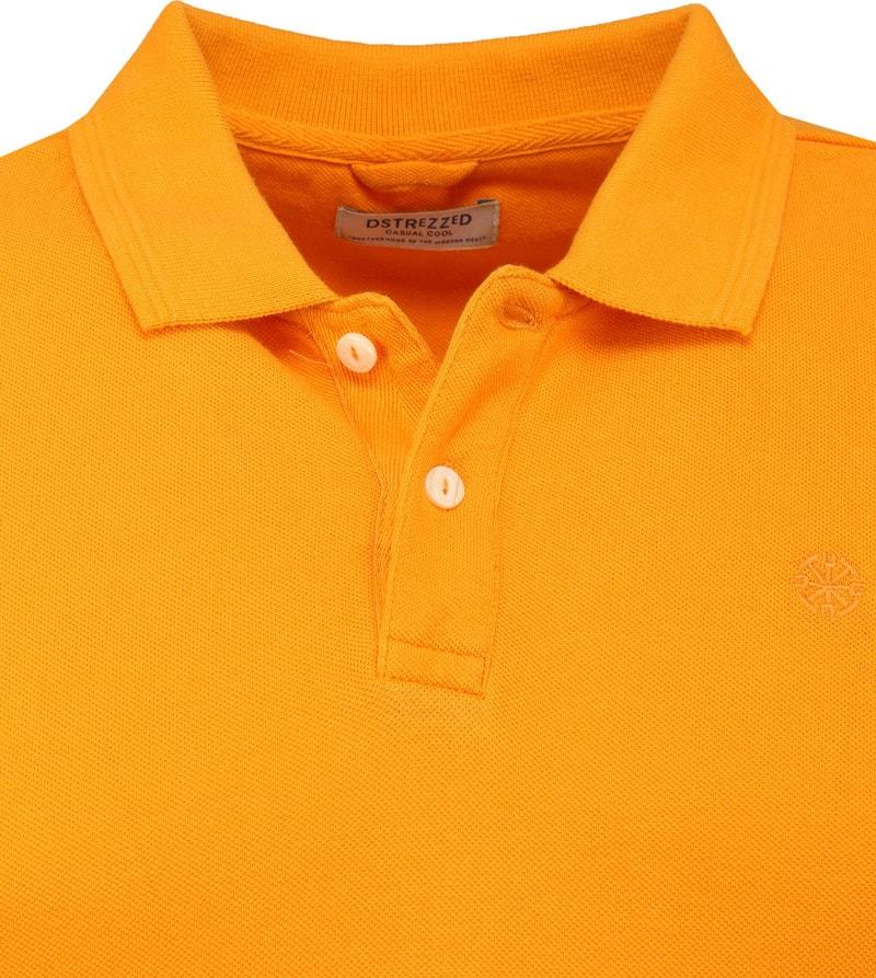 Dstrezzed Bowie Poloshirt Oranje foto 1