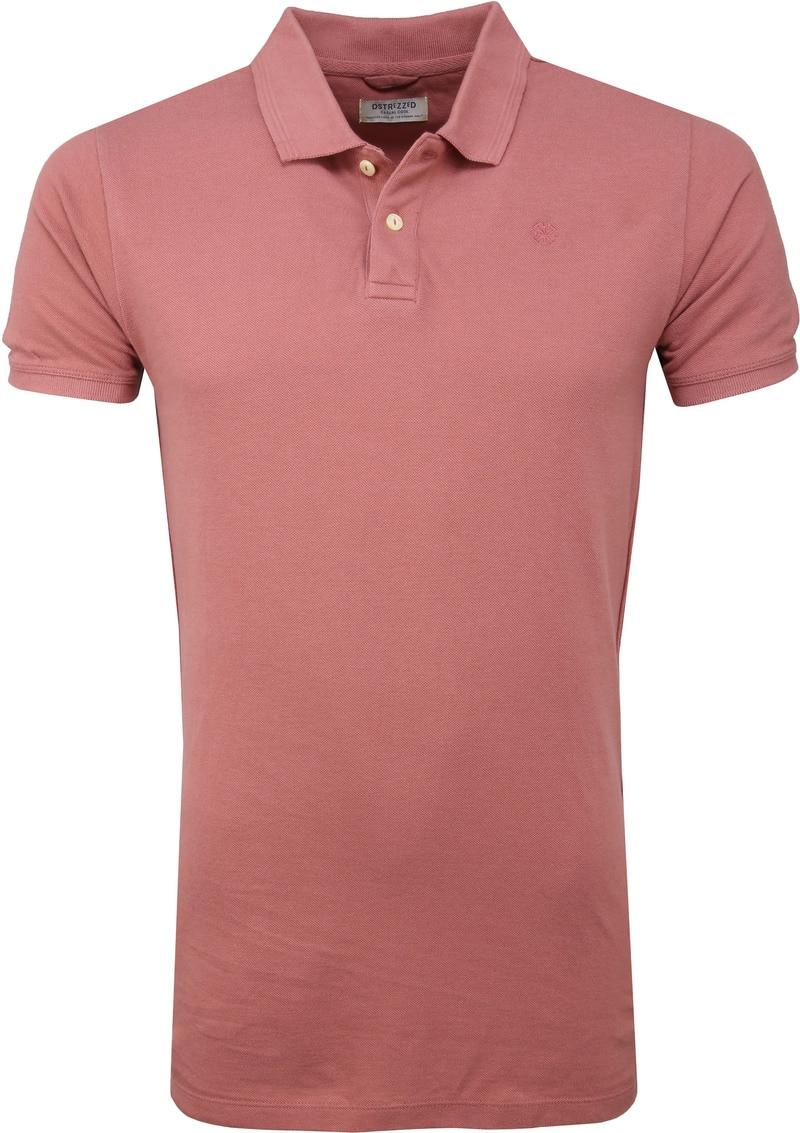 Dstrezzed Bowie Poloshirt Roze foto 0