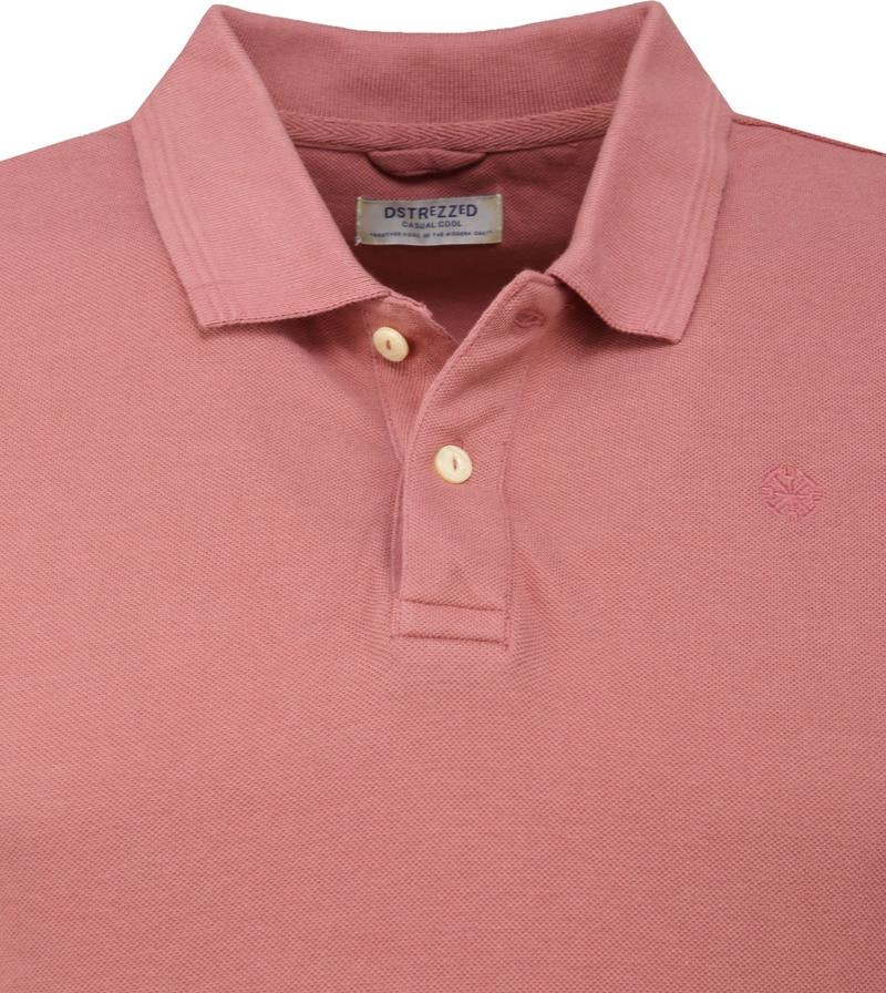 Dstrezzed Bowie Poloshirt Roze foto 1