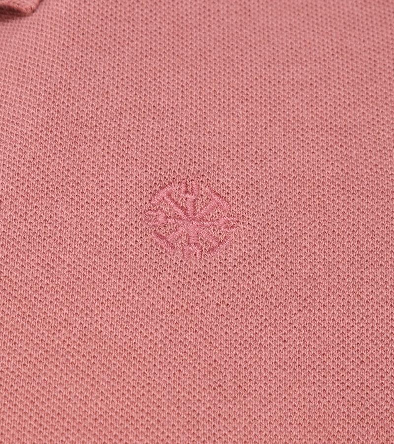 Dstrezzed Bowie Poloshirt Roze foto 2