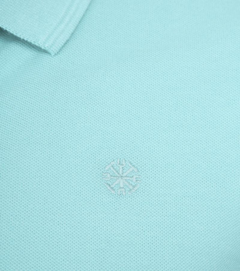 Dstrezzed Bowie Poloshirt Turquoise photo 2