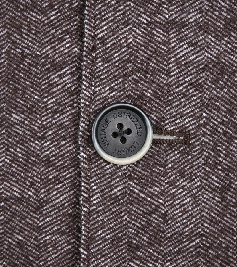 Dstrezzed Coat Boucle Brown Melange