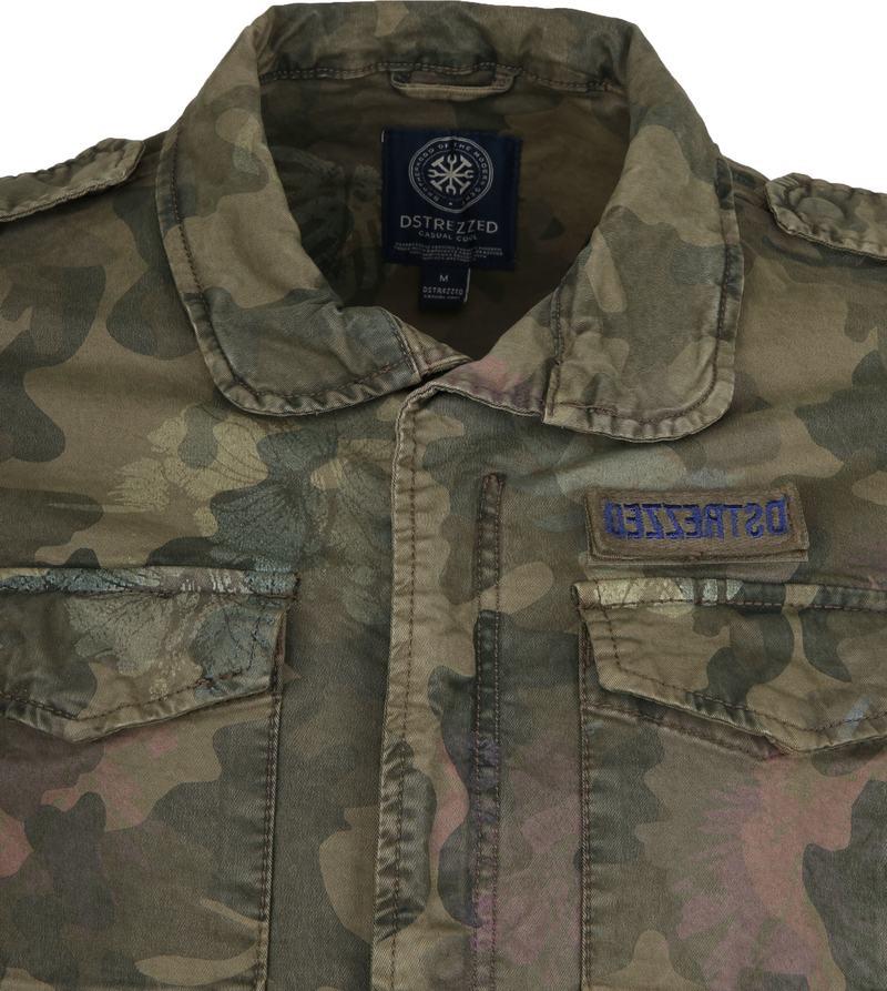 Dstrezzed Jacket Army Print Foto 1