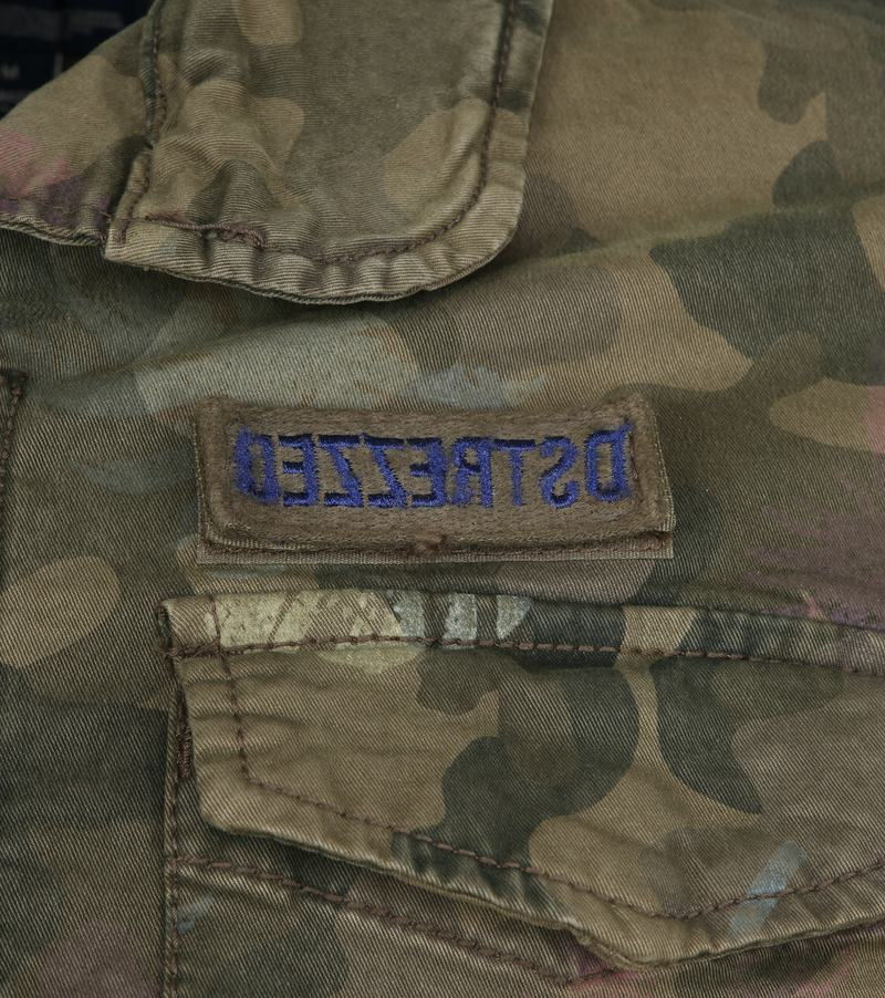 Dstrezzed Jacket Army Print Foto 2