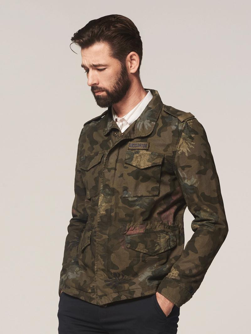 Dstrezzed Jacket Army Print Foto 7