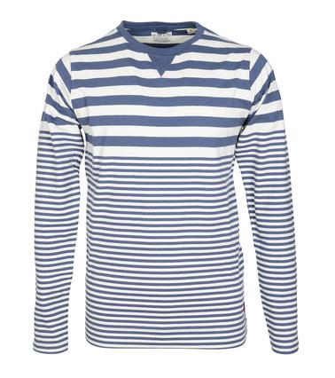 Dstrezzed Longsleeve T-shirt Blau Streifen  online kaufen   Suitable