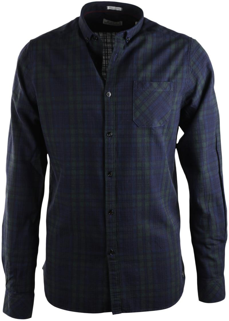 Dstrezzed Overhemd Blauwgroene ruit  online bestellen | Suitable