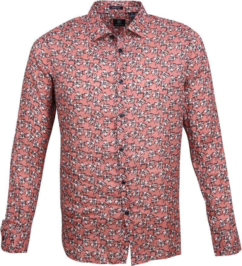 Dstrezzed Overhemd Bloemen Roze foto 0