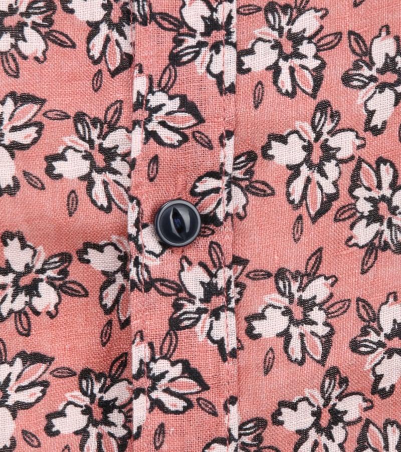 Dstrezzed Overhemd Bloemen Roze foto 2