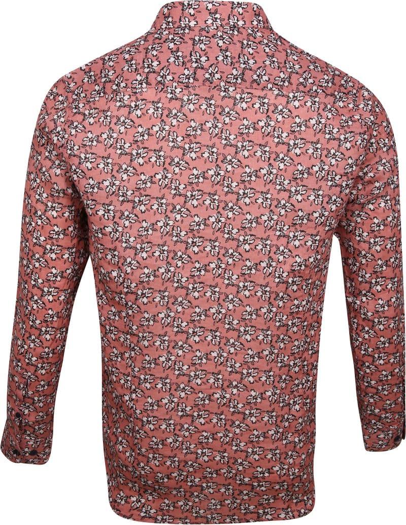 Dstrezzed Overhemd Bloemen Roze foto 3