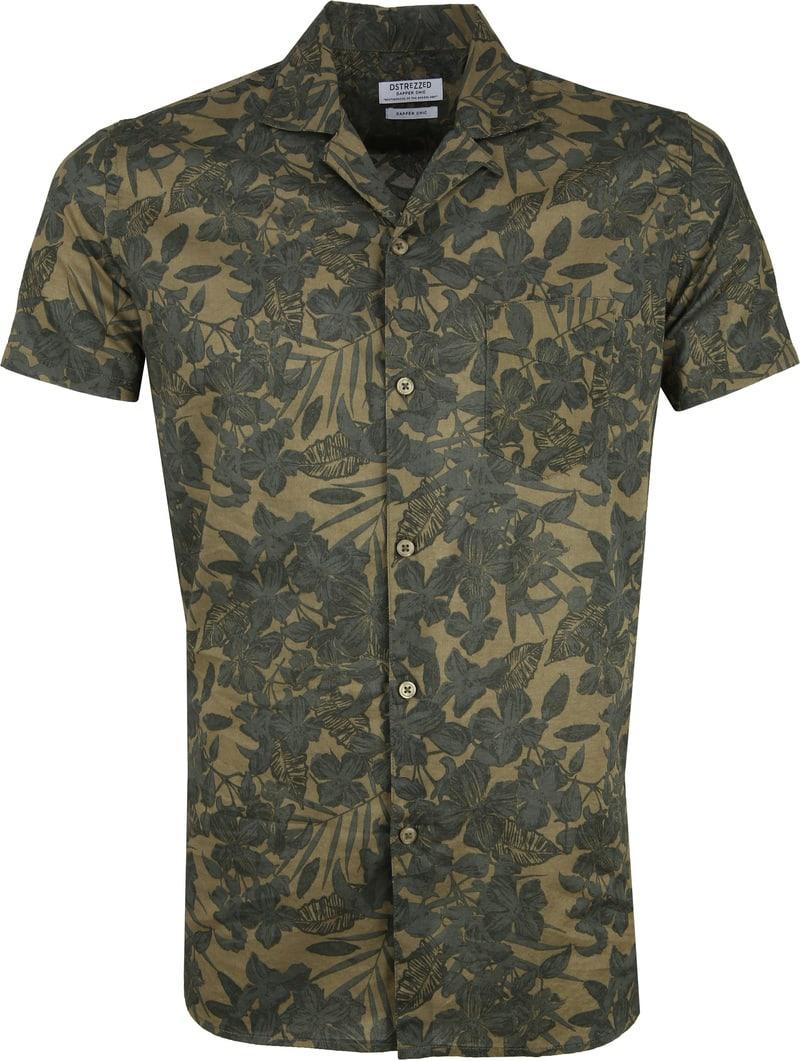 Dstrezzed Overhemd Camo Groen foto 0