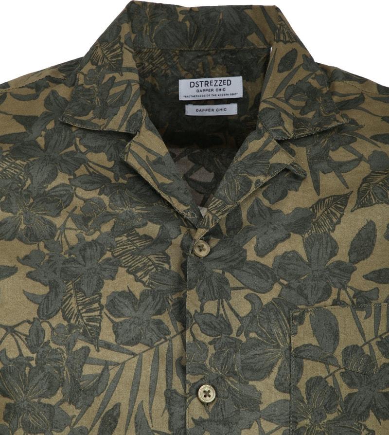 Dstrezzed Overhemd Camo Groen foto 1