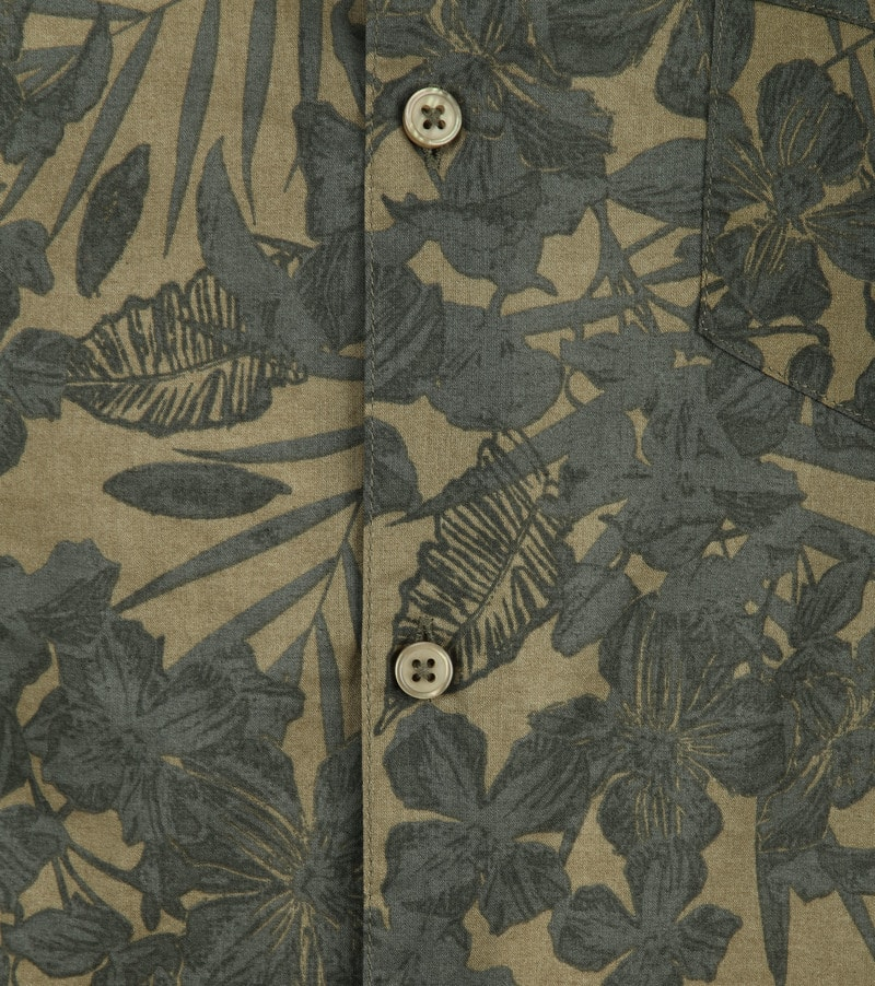 Dstrezzed Overhemd Camo Groen foto 2