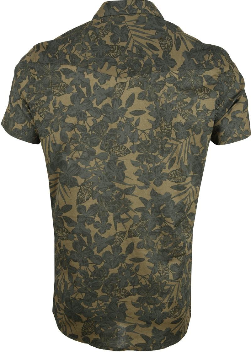 Dstrezzed Overhemd Camo Groen foto 3