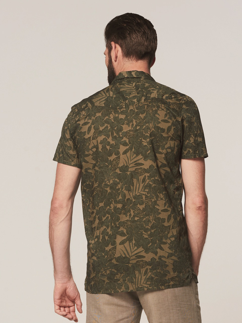 Dstrezzed Overhemd Camo Groen foto 5