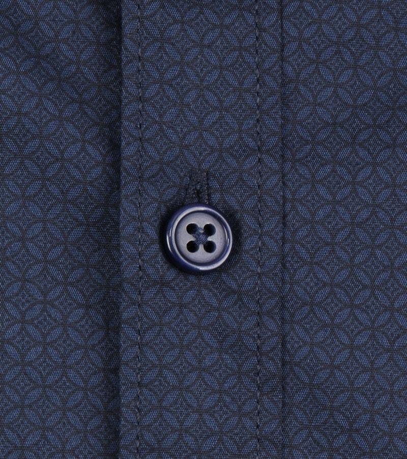 Dstrezzed Overhemd Dessin Navy foto 2