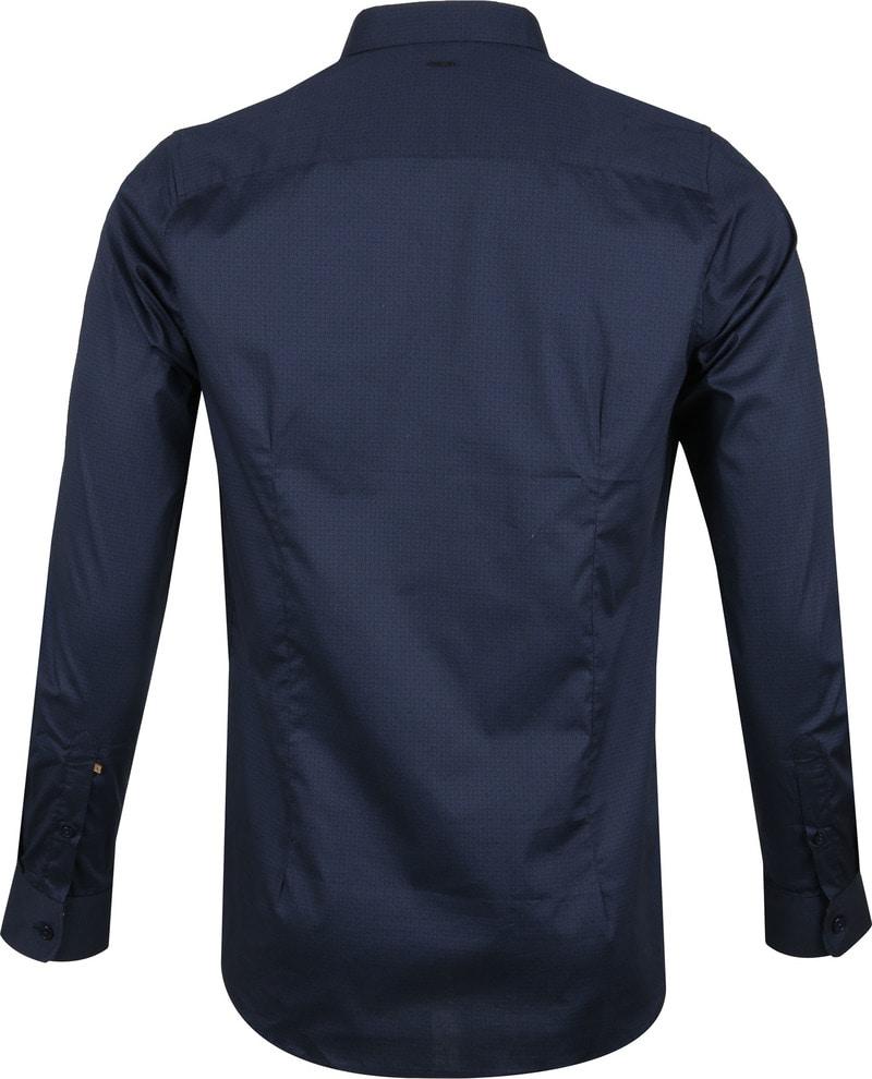 Dstrezzed Overhemd Dessin Navy foto 3