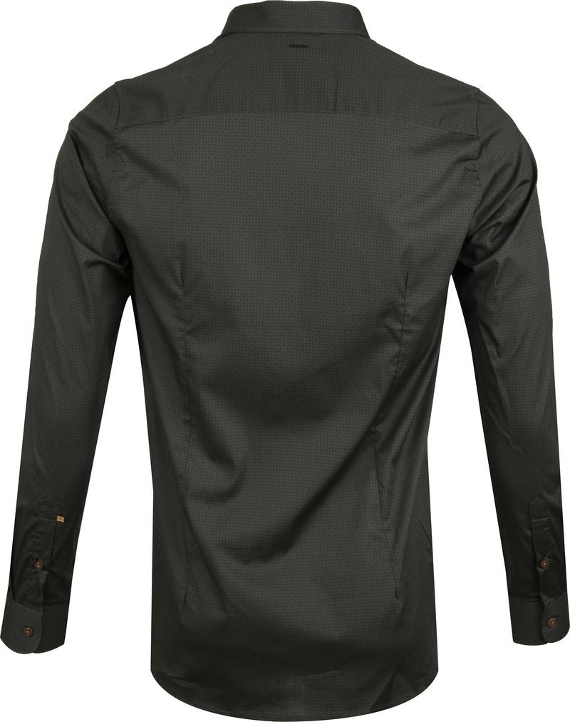 Dstrezzed Overhemd Dessin Navy foto 4