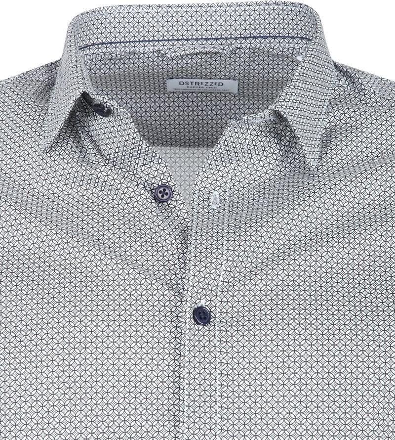 Dstrezzed Overhemd Dessin Wit foto 1