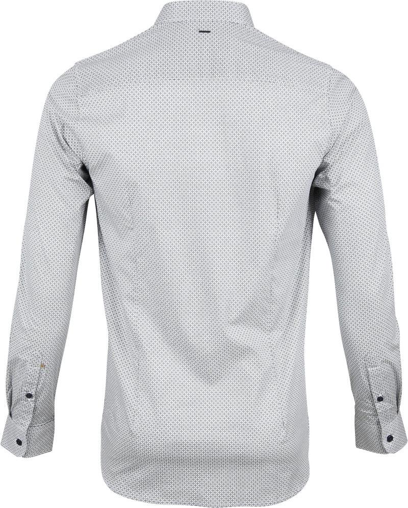 Dstrezzed Overhemd Dessin Wit foto 3