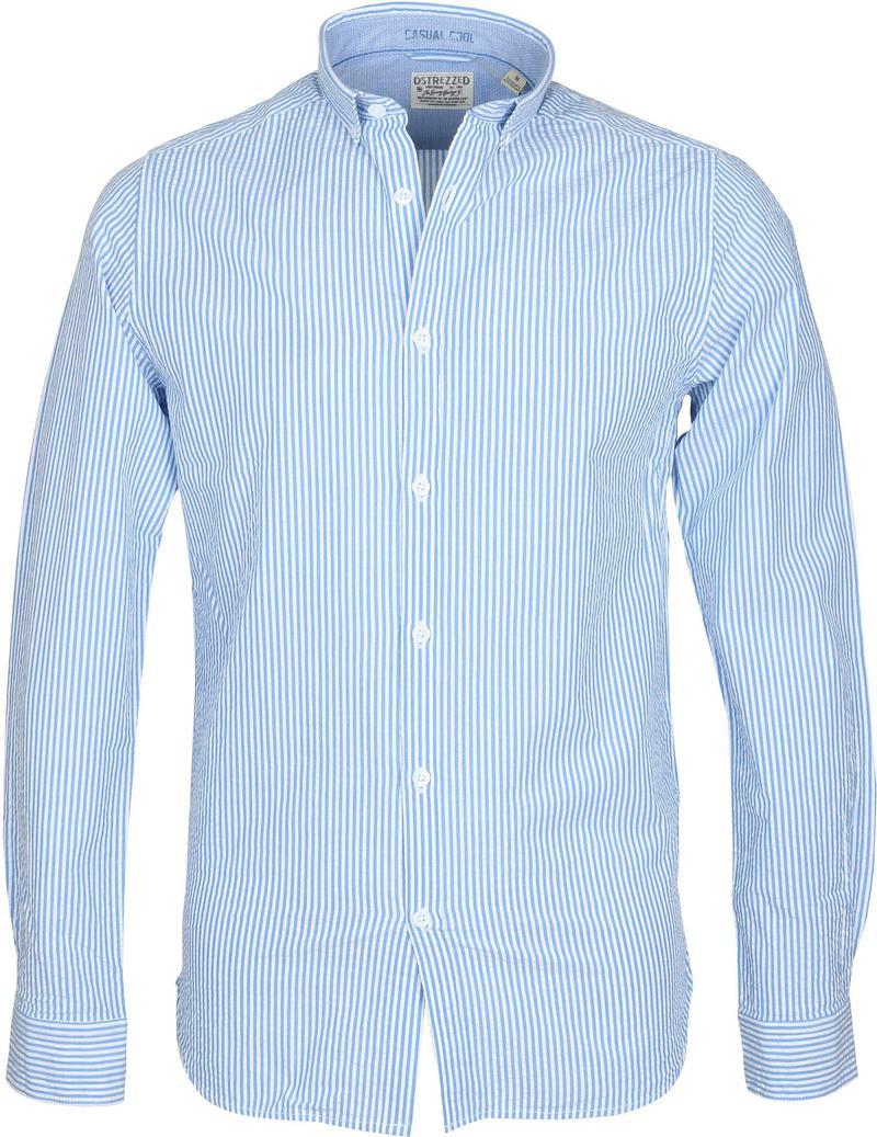 Dstrezzed Overhemd Seersucker Streep  online bestellen | Suitable