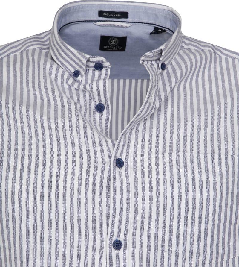 Dstrezzed Overhemd Twin Stripe Blauw foto 1