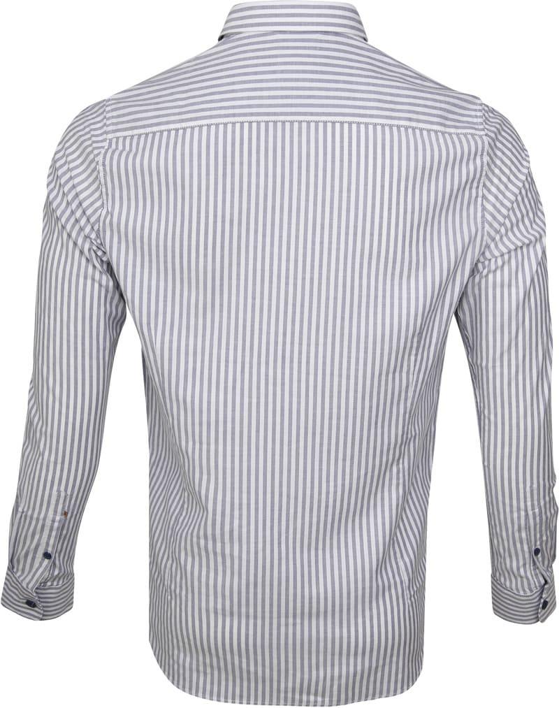 Dstrezzed Overhemd Twin Stripe Blauw foto 3