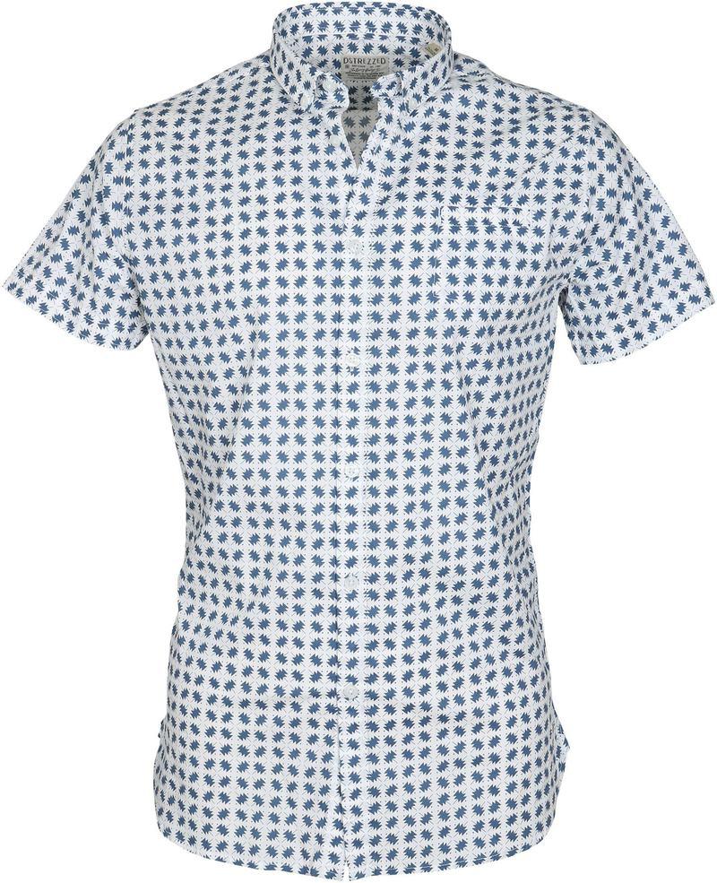 DStrezzed Polo Blauw Dessin  online bestellen   Suitable