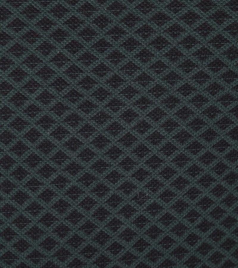 Dstrezzed Polo Shirt Graphic Pique Dark Green