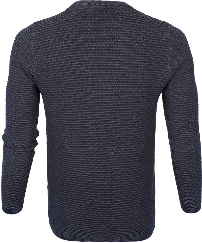Dstrezzed Pullover Crew Acid Structure Navy photo 3