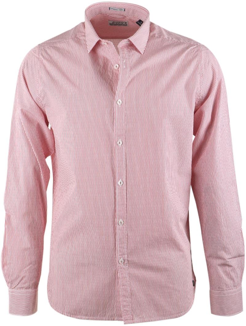 Dstrezzed Shirt Red Stripe photo 0