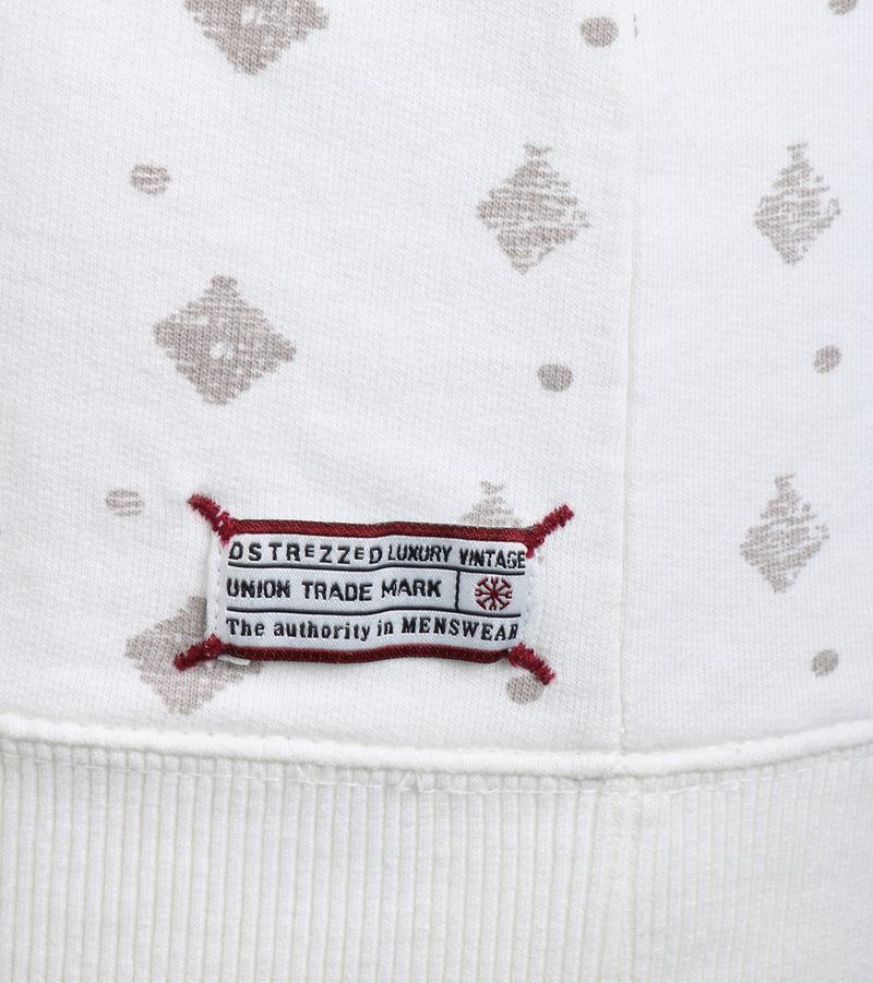 Detail Dstrezzed Sweater Off White