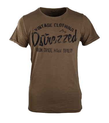 Dstrezzed T-shirt Brown Graphic  online bestellen | Suitable