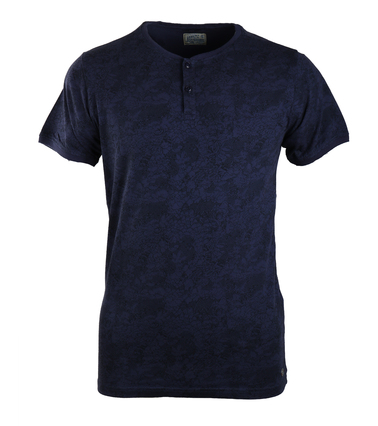 Dstrezzed T-shirt Donkerblauw Print  online bestellen | Suitable