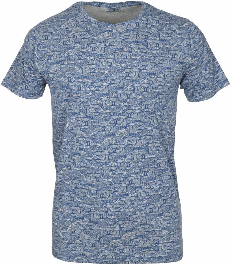 Dstrezzed T-shirt Dunkelblau Eule  online kaufen | Suitable