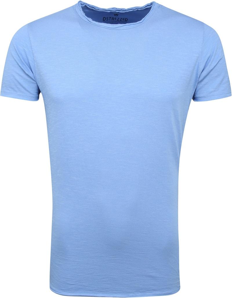 Dstrezzed T-shirt Lichtblauw foto 0