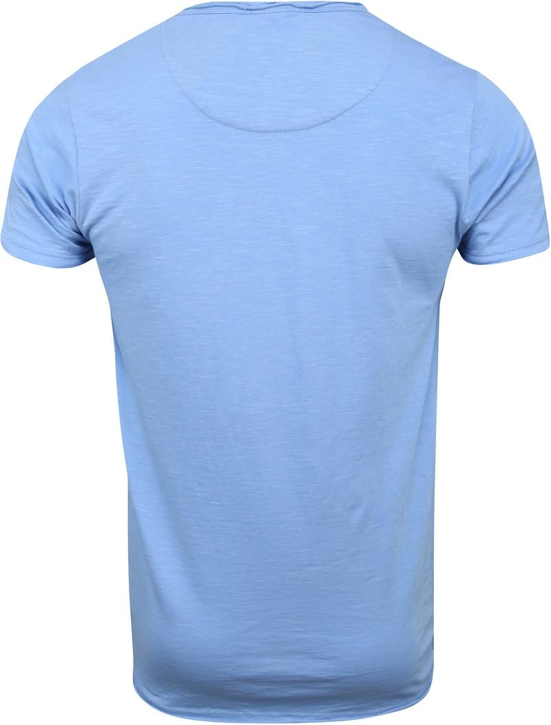 Dstrezzed T-shirt Lichtblauw foto 3