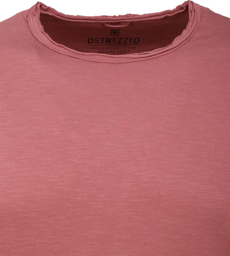 Dstrezzed T-shirt Oud Roze foto 1