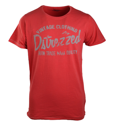 Dstrezzed T-shirt Red Graphic  online bestellen | Suitable