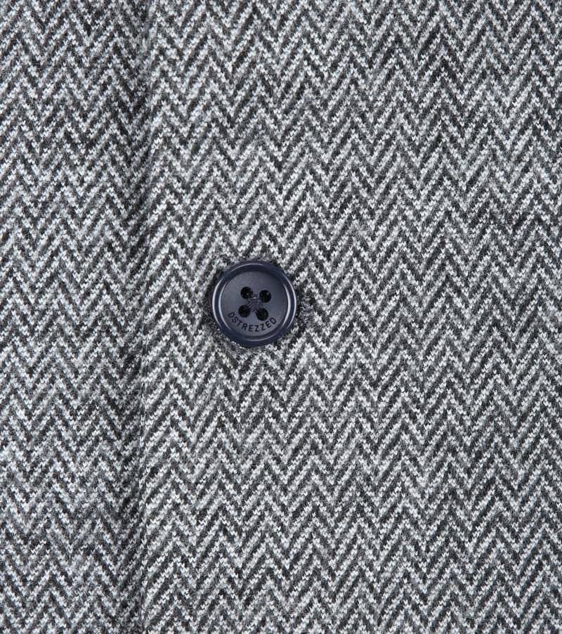 Dstrezzed Waistcoat Herringbone Grey photo 1